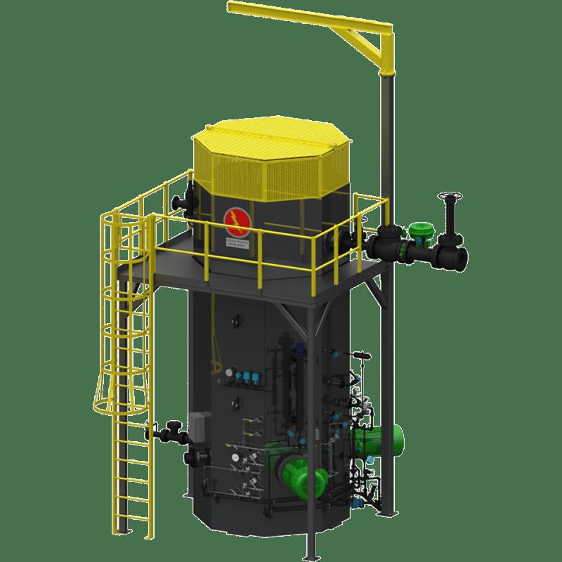 Model HVJ Electrode Boiler