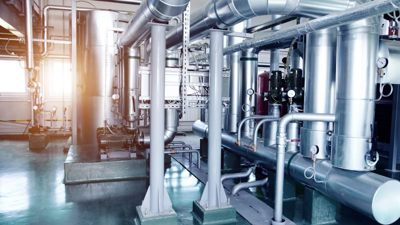 Boilers for commercial buildings